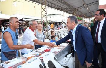 Başkan Böcek, Alanyalılarla iftarda buluştu