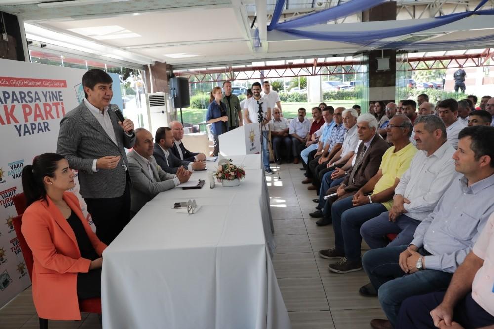 """Başkan Menderes Türel: """"Antalya şaha kalktı"""""""