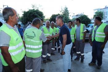 Başkan Sözen, vatandaşlarla iftar sofrasında buluştu