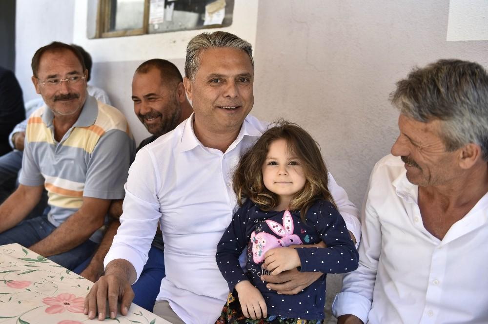 Başkan Uysal, Korkuteli'de