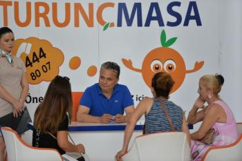 Başkan Uysal Turunç Masa'da