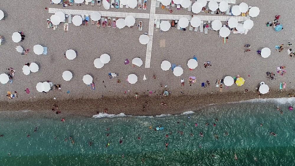 Bayramın son günü sahiller doldu