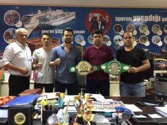 Boks Dünya Şampiyonları yıldızları Alanya'da