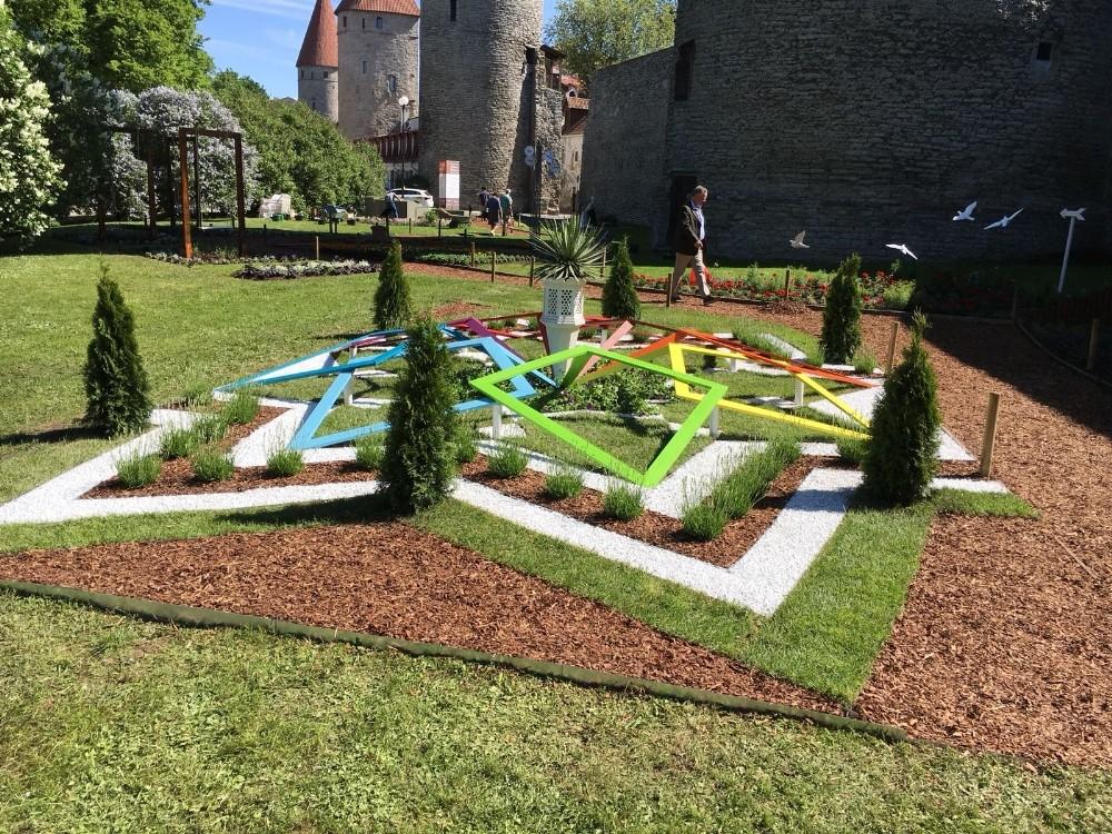 Büyükşehir Belediyesi Estonya'da Türkiye bahçesi kurdu