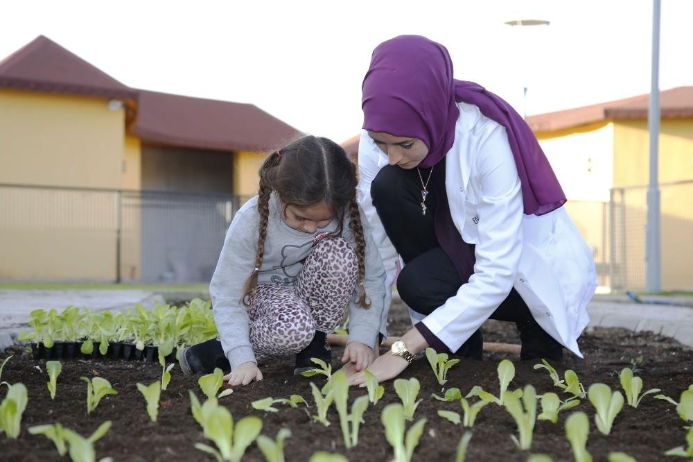 Ekolojik Kreş'te yaz okulu heyecanı