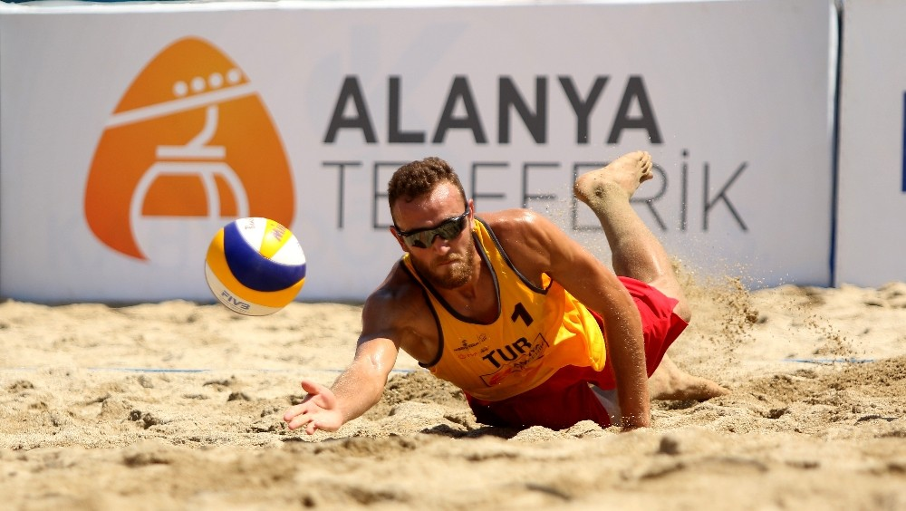 FIVB Plaj Voleybolu Alanya Etabı sona erdi