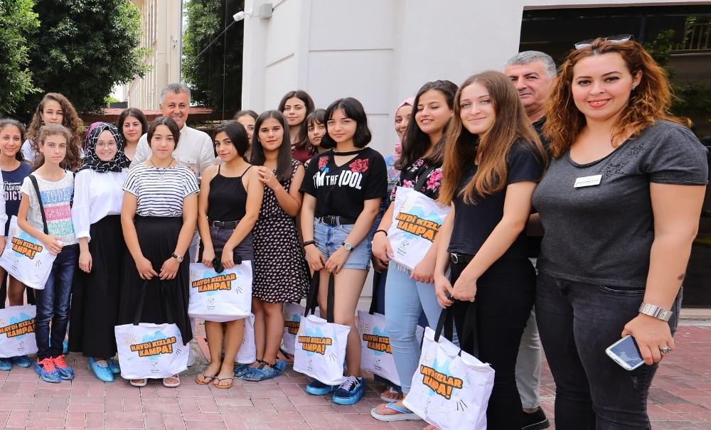 'Haydi Kızlar Kampa' projesi başladı