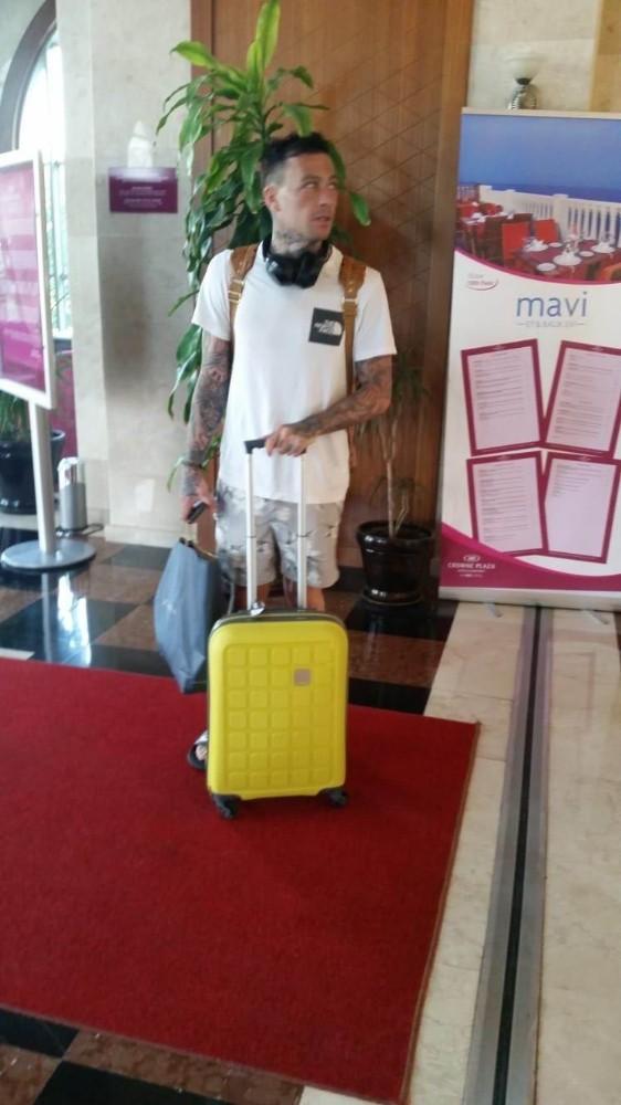 İngiliz turistin kusursuz planı güvenlik kamerasına takıldı
