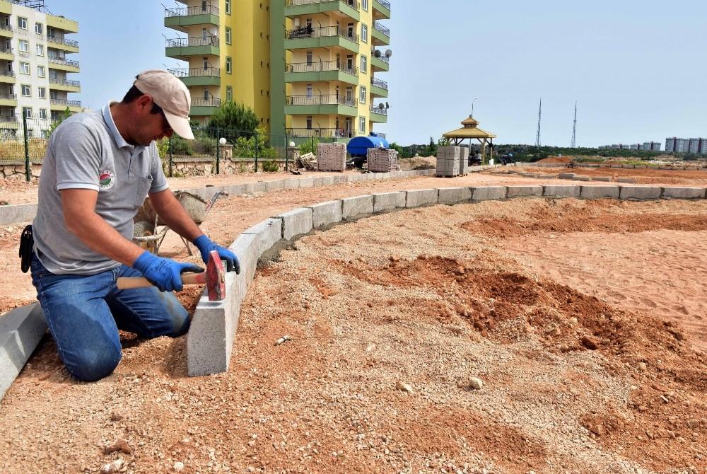Kepez Belediyesi'nden Çankaya'ya yeni park