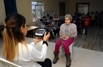 Kepez'de 10 bin 828 çocuğa göz taraması yapıldı