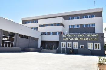 Kepez'in 'Sosyal Bilimler Lisesi' gün sayıyor