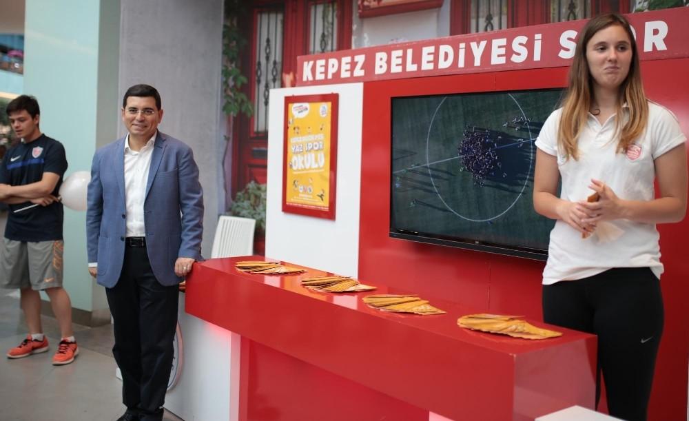 Kepez'in spor okullarına büyük ilgi