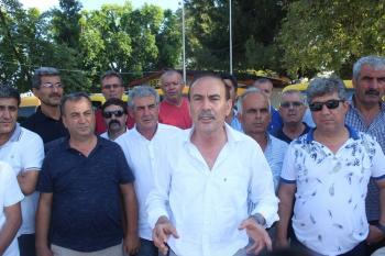 """Manavgat Şoförler Odası Başkanı Ünal: """"Ya korsan bizi, ya biz korsanı bitireceğiz"""""""