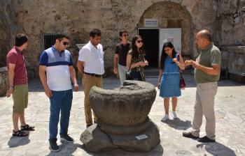 MATSO, Azeri gazetecilere Manavgat'ı tanıttı