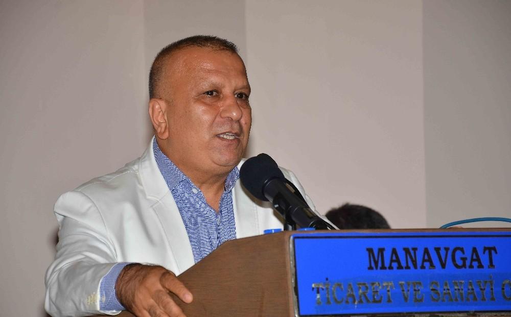 MATSO'nun imar barışı toplantısı Manavgat'ta izdihama neden oldu