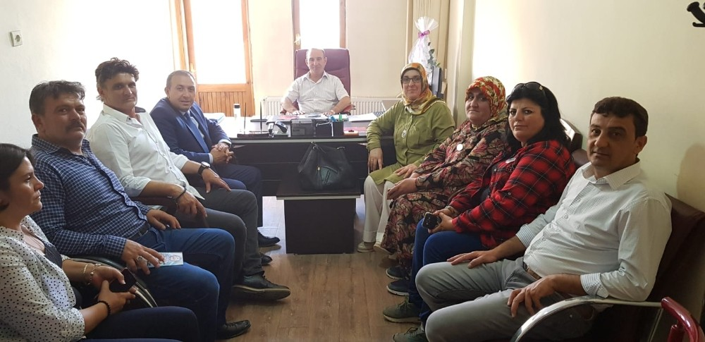 MHP'li Temur'un seçim çalışmaları