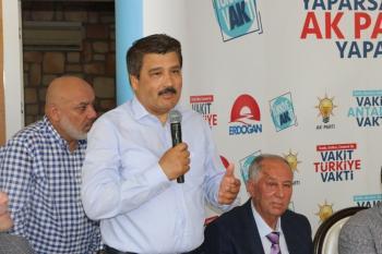 """Milletvekili adayı Çelik: """"Güçlü Türkiye hedefine birlikte ulaşacağız"""""""