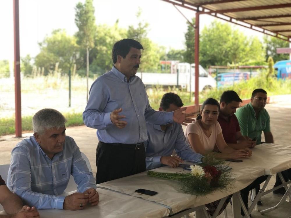"""Milletvekili Adayı Çelik: """"Tarım üreticimizi unutmuyoruz"""""""