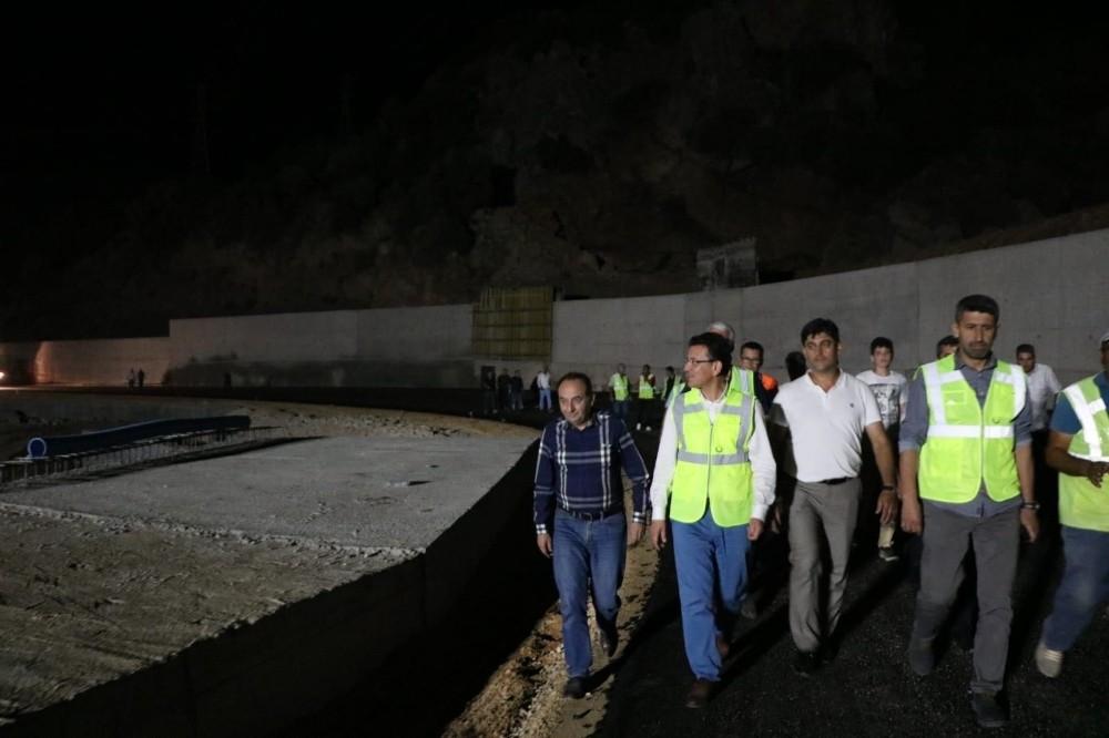 Milletvekili Uslu, Antalya- Kumluca yolunu inceledi
