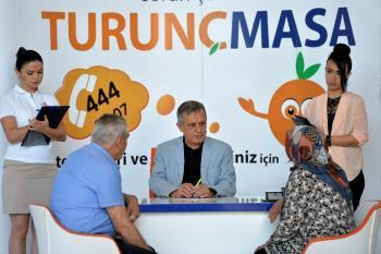 Muratpaşa'da randevusuz görüşmeler