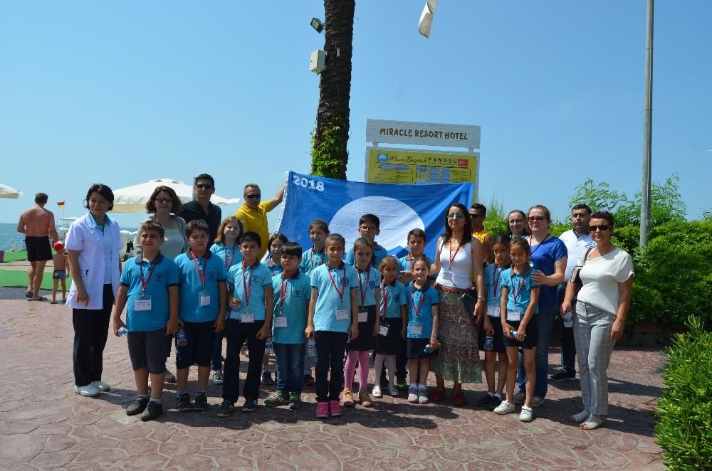 Öğrencilere Mavi Bayrak eğitimi