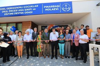 Pınarbaşı Molaevi hizmete açıldı