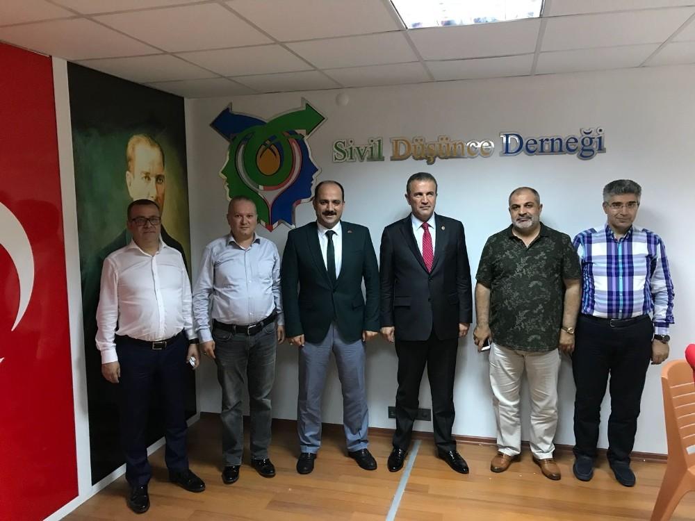 SDD Antalya Milletvekili adayları ile buluşuyor