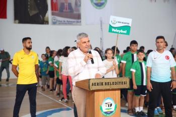 Serik Belediyesi yaz spor okulları açıldı