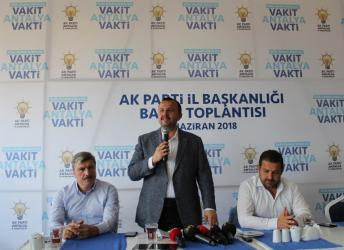 "Taş: ""Antalya AK Parti'nin kalesidir"""