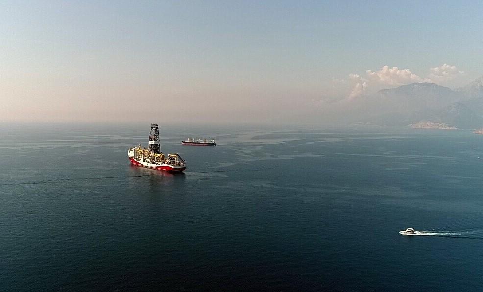 Türkiye'nin doğalgaz ve petrol arama gemisi Akdeniz'de