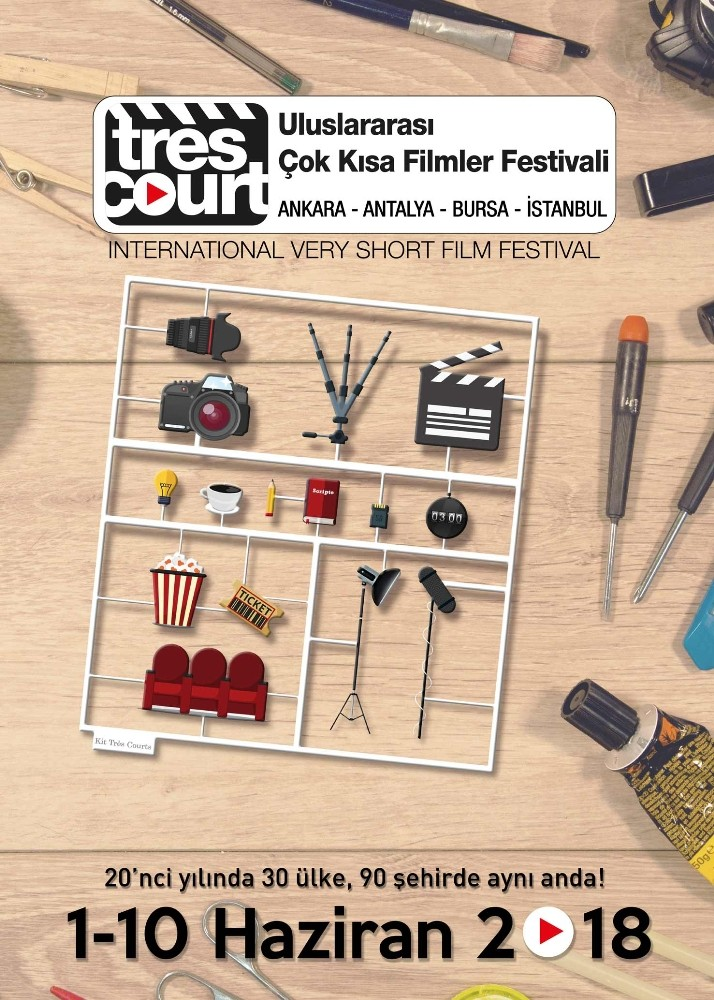 Uluslar arası Çok Kısa Film Festivali başlıyor