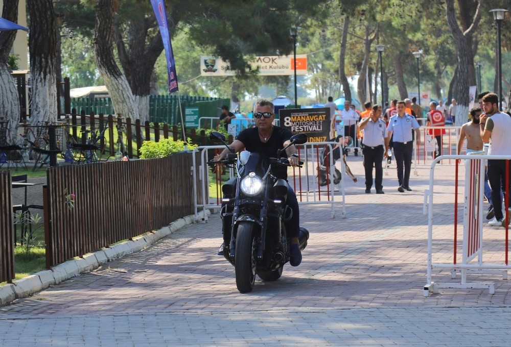 8. Uluslararası Manavgat Motosiklet Festivali başladı