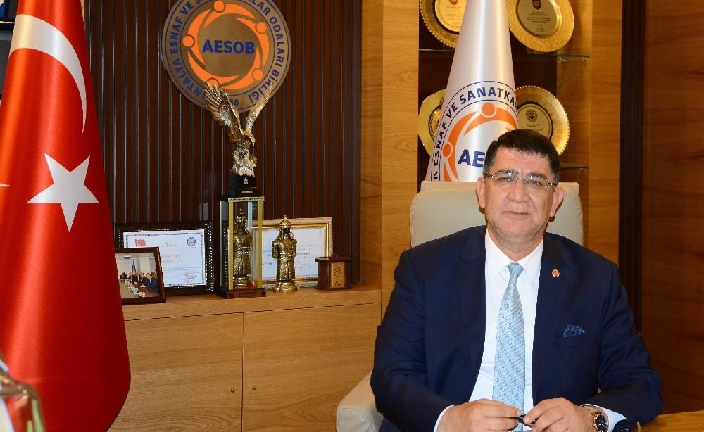 AESOB Başkanı Dere'nin 15 Temmuz Mesajı