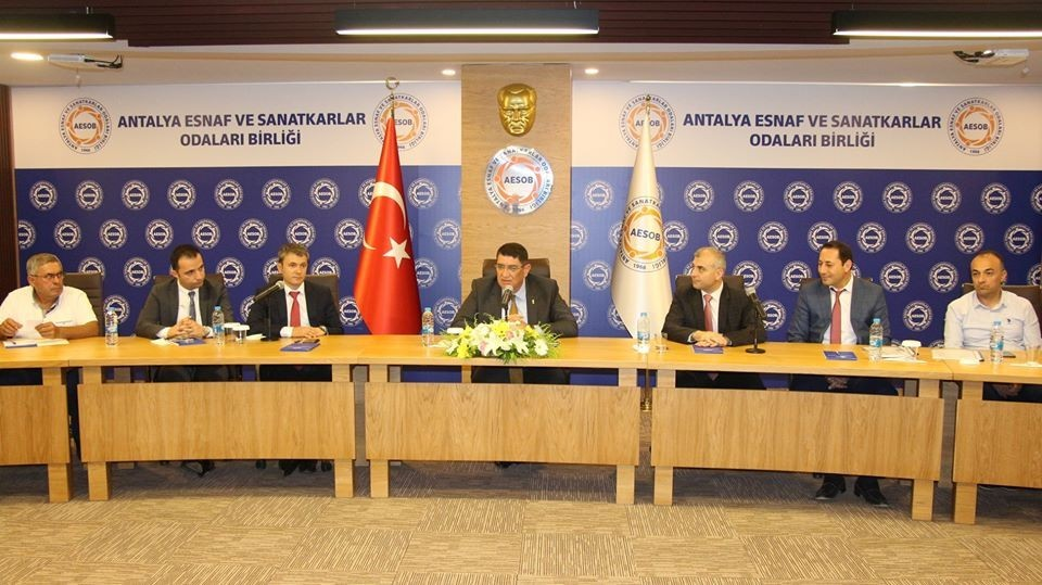 AESOB'da vergi yapılandırma toplantısı