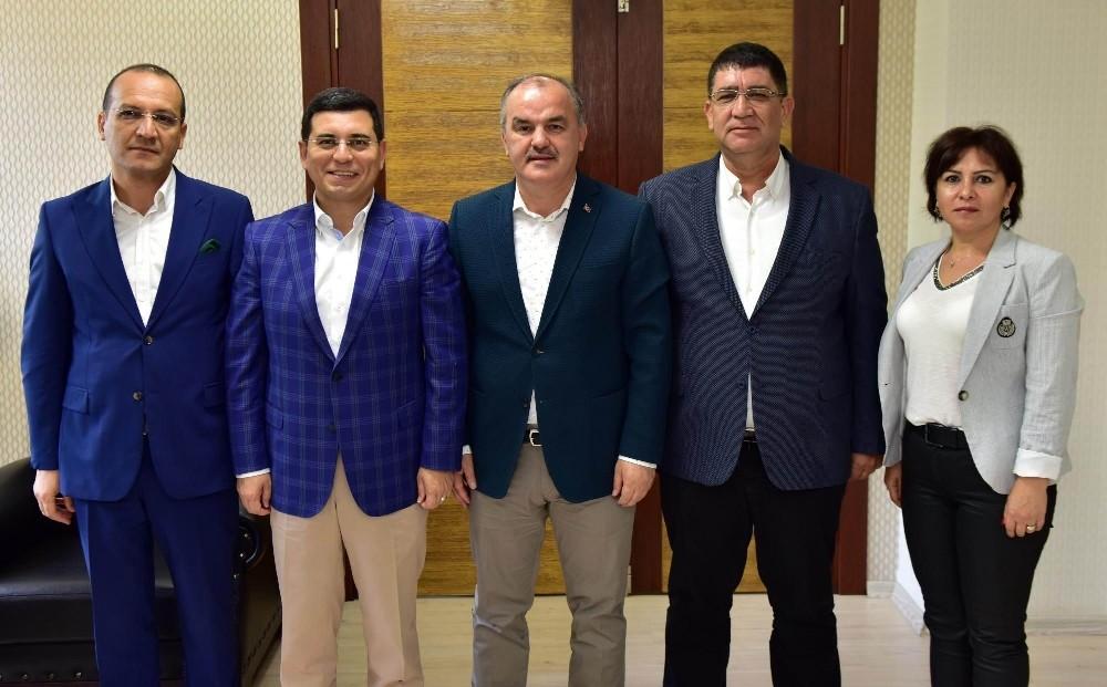 Akdeniz Belediyeler Birliği(AKBB) heyeti Denizli'de