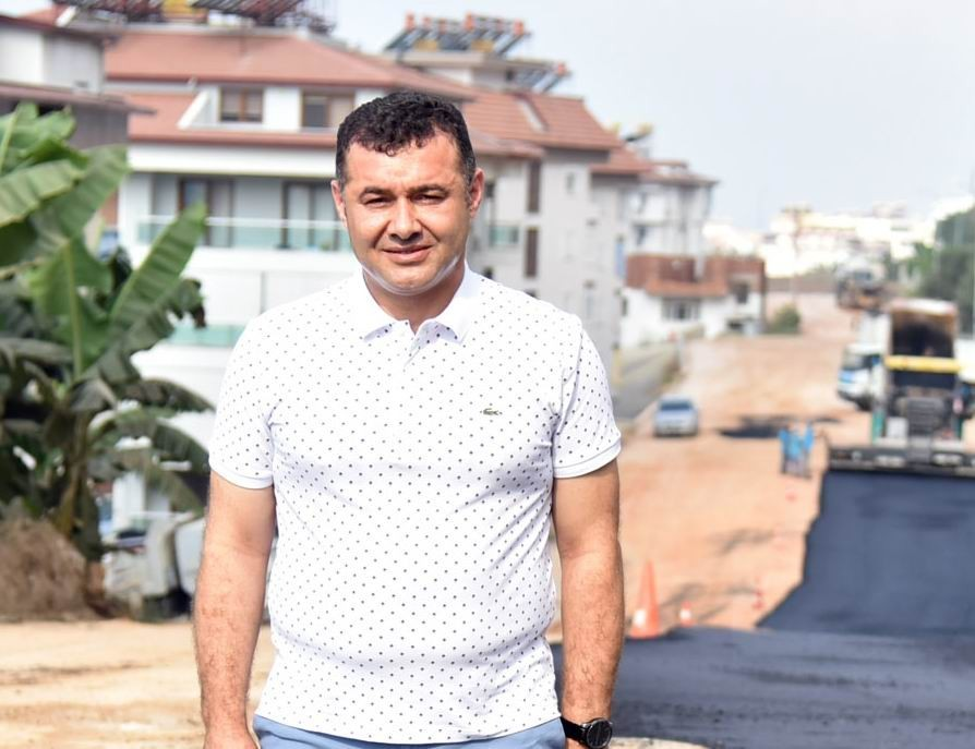 Alanya Belediyesi,Küçük ve Büyükhasbahçe Mahallelerinin asfalt çalışmalarını tamamladı
