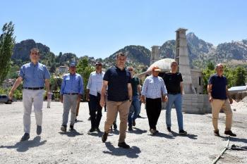 Alanya Çayarası Yaylası'na yeni çarşı ve 500 kişilik cami