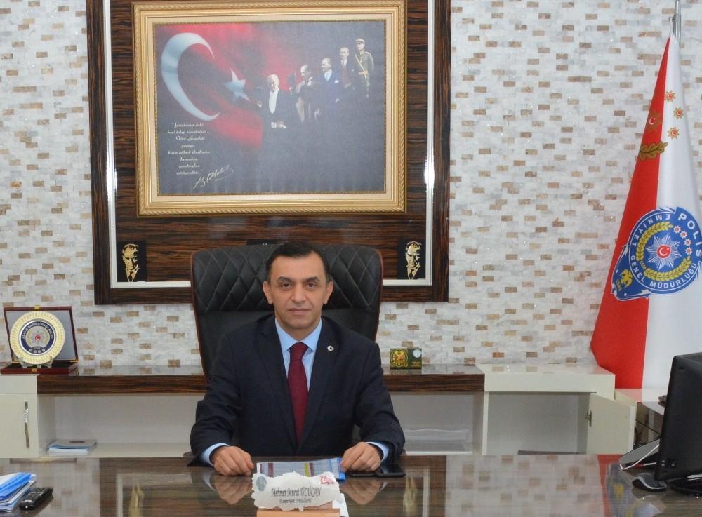 Antalya İl Emniyet Müdürü mehmet Murat Ulucan: