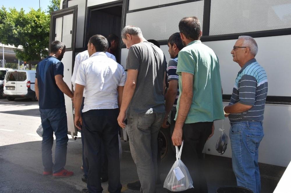 Antalya'da 165 aranan şahsı yakalandı