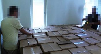 Antalya'da 4 bin 500 litre taklit zeytinyağı ele geçirildi