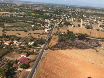 Antalya'da arazi yangını