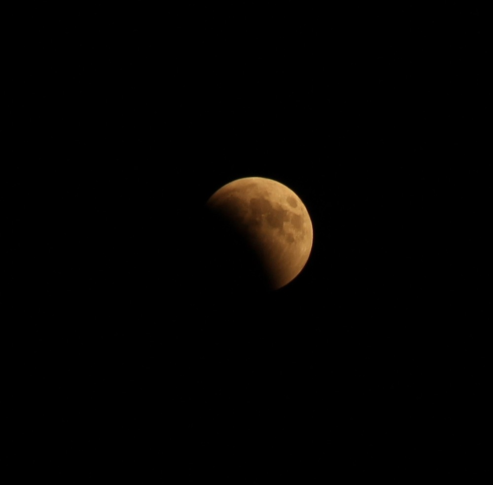 Antalya'da ay tutulması