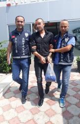 Antalya'da iş yeri hırsızı 2 hafta sonra yakalandı
