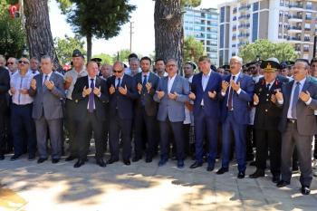 Antalya'da şehitler dualarla anıldı