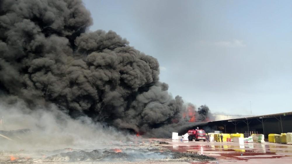 Antalya'daki yangına müdahale devam ediyor