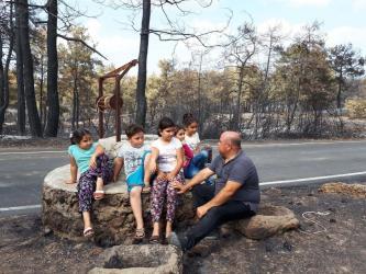 Antalyalı çiftçiden Tarım Bakanı'na 'yangın' mektubu