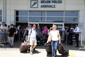 Antalya'ya gelen turist sayısı 5 milyonu aştı