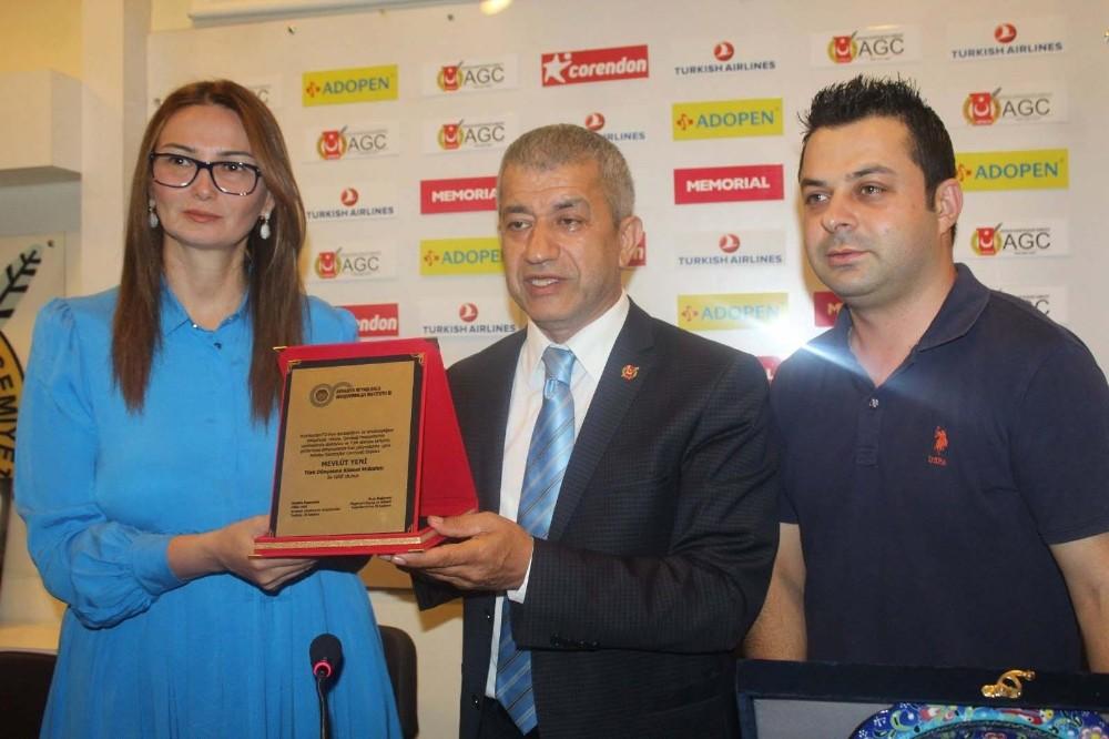 Azerbaycan milletvekilinden Antalya Gazeteciler Cemiyeti'ne ziyaret