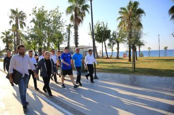 Başkan Türel, Konyaaltı Sahili'ni denetledi