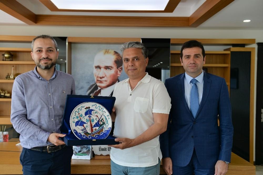 Başkan Uysal, gemi mühendislerini ağırladı